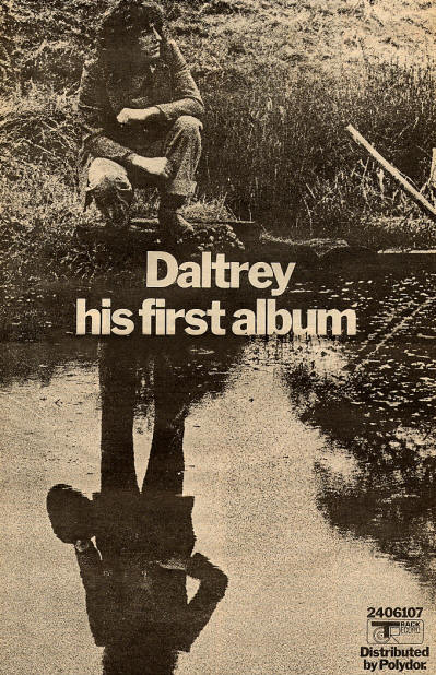 Roger Daltrey - Daltrey advert (thewho.info)