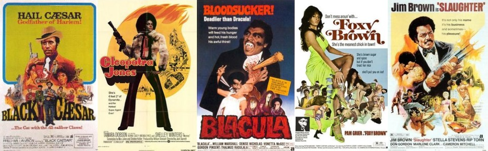 Blaxploitation movies (wikipedia.org/apoplife.nl)