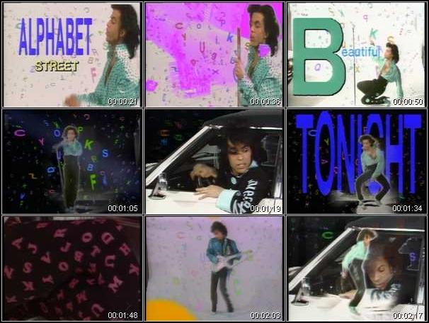 Prince - Alphabet St. video (hq-music-videos.com)