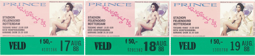 Prince - Lovesexy Tour - Rotterdam August, 17th, 18th and 19th, 1988 (apoplife.nl)