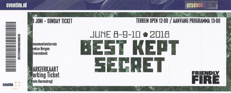 Best Kept Secret Festival, 10-06-2018 (apoplife.nl)