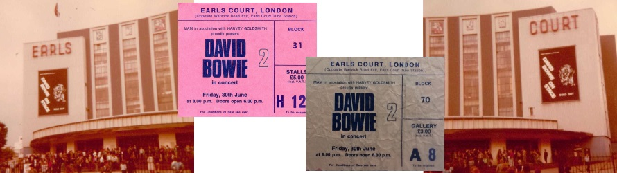 David Bowie - Earls Court 1978 (tapatalk.com/picssr.com/polscoecottage.co.uk/apoplife.nl)