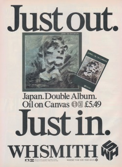 Japan - Oil On Canvas ad June 1983 (totp80s.blogspot.com)