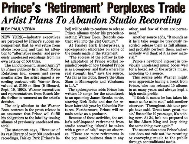 Prince - Billboard Magazine 05/08/1993 (prince.org)