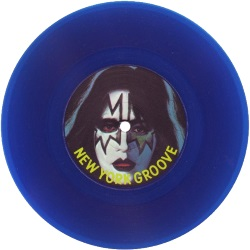 Kiss/Ace Frehley - New York Groove (blauw vinyl single) (discogs.com)