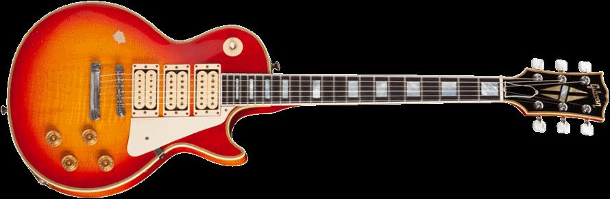"""Gibson Ace Frehley """"Budokan"""" Les Paul Custom guitar (gibson.com)"""