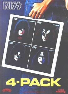 Kiss - Solo albums - Ad (pencilstorm.com)
