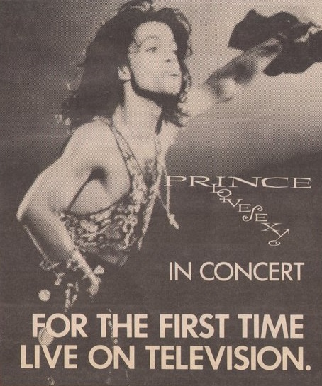 Prince - Lovesexy Tour Dortmund - Advertising Variety 31-08-1988 (twitter.com/housequake)