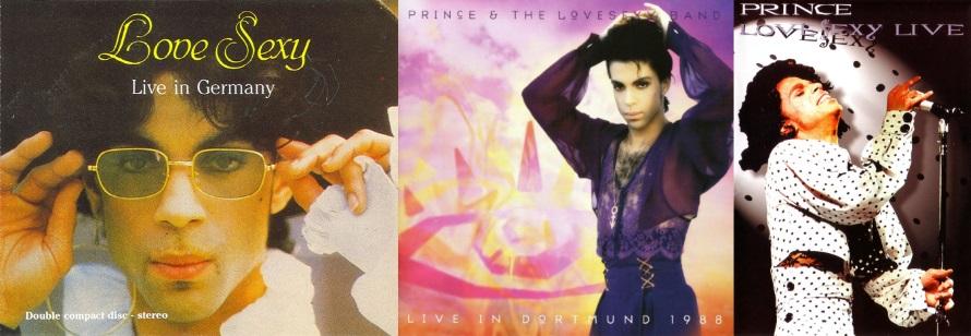Prince - Lovesexy Tour - Dortmund - Bootlegs (discogs.com/apoplife.nl)