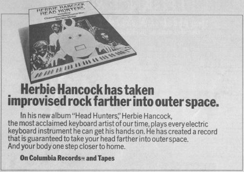 Herbie Hancock - Head Hunters - Ad (superseventies.com)