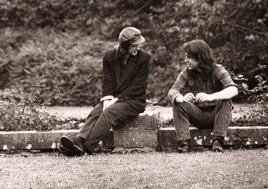 Mike Scott & Steve Wickham 1988 (mikescottwaterboy.tumblr.com)