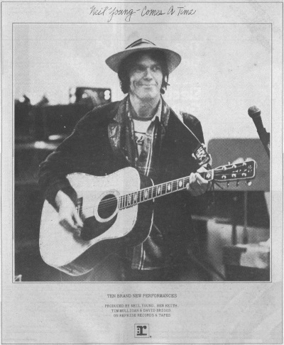 Neil Young - Comes A Time - Reclame (superseventies.com)