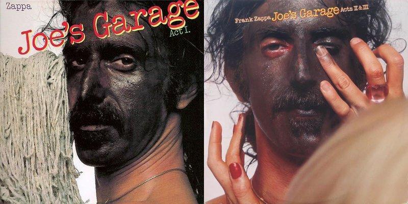 Image result for joes garage album cover