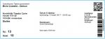 Elvis Costello 03/08/2017 concert ticket (apoplife.nl)