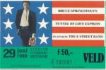 Bruce Springsteen 06/29/1988 concert ticket (apoplife.nl)