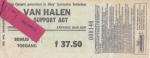 Van Halen 04/13/1993 concert ticket (apoplife.nl)