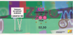 U2 08/03/1993 concert ticket (apoplife.nl)