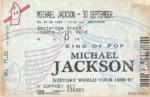 Michael Jackson 09/30/1996 concert ticket (apoplife.nl)