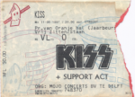 Kiss 06/11/1997 concert ticket (apoplife.nl)