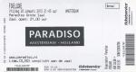 fDeluxe 01/20/2012 concert ticket (apoplife.nl)