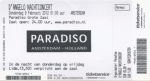 D'Angelo 02/09/2012 concert ticket (apoplife.nl)