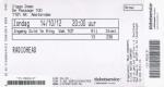 Radiohead 10/14/2012 concert ticket (apoplife.nl)