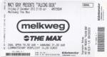 Macy Gray 12/21/2012 concert ticket (apoplife.nl)