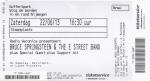 Bruce Springsteen 06/22/2013 concert ticket (apoplife.nl)