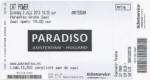 Cat Power 07/02/2013 concert ticket (apoplife.nl)