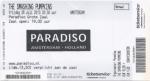 Smashing Pumpkins 07/26/2013 concert ticket (apoplife.nl)