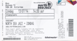 North Sea Jazz 07/13/2014 concert ticket (apoplife.nl)