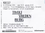 Morrissey 10/28/2014 concert ticket (apoplife.nl)