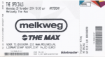 Specials 11/26/2014 concert ticket (apoplife.nl)