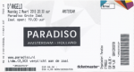 D'Angelo 03/02/2015 concert ticket (apoplife.nl)