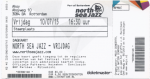 North Sea Jazz 07/10/2015 concert ticket (apoplife.nl)