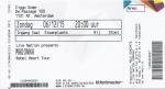 Madonna 12/06/2015 concert ticket (apoplife.nl)
