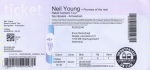 Neil Young 06/24/2016 concert ticket (apoplife.nl)