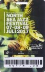 North Sea Jazz festival 07/07-08-09/2017 concert ticket (apoplife.nl)