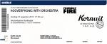 Hooverphonic 08/27/2017 concert ticket (apoplife.nl)