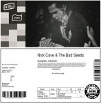 Nick Cave 10/13/2017 concert ticket (apoplife.nl)