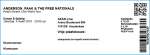 Anderson Paak 03/09/2019 concert ticket (apoplife.nl)