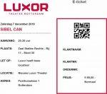 Sibel Can 12/07/2019 concert ticket (apoplife.nl)