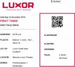 Firat Tanis 12/14/2019 concert ticket (apoplife.nl)
