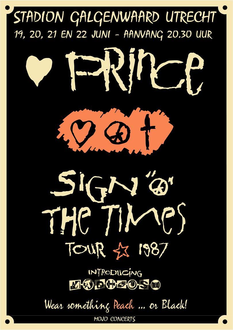 Prince, SOTT Tour Poster (apoplife.nl)
