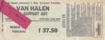 Van Halen 13-04-1993 concertkaartje (apoplife.nl)