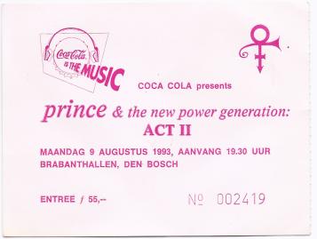 19930809 Prince & The NPG