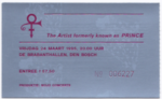 The Artist Formerly Known As Prince 24-03-1995 concertkaartje (apoplife.nl)