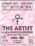 The Artist 28-12-1998 concertkaartje (apoplife.nl)