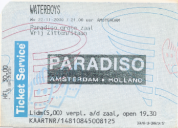 20001122 Waterboys