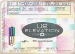 U2 31-07-2001 concertkaartje (apoplife.nl)